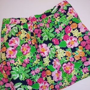 Lilly Pulitzer Mimosa Floral Mini Skirt S